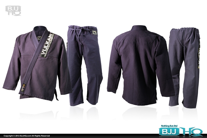 New Vulkan Ultra Light BJJ Gi in Navy